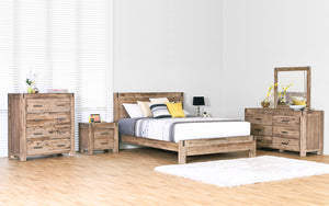 Silverstrike 6 Piece Super King Bedroom Suite