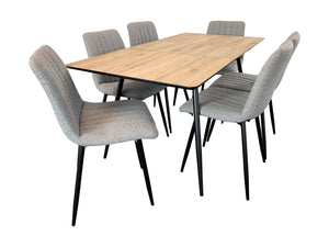 Astro 7 Piece Dining Suite