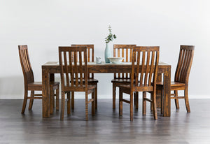 Country 7 Piece 190 Dining Suite