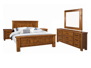Farmhouse 5 Piece Queen Bedroom Suite