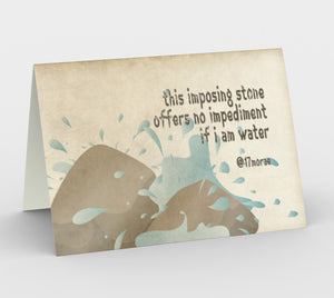 WATER Greeting Cards (set of 3)