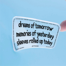 MEMENTO Sticky Note