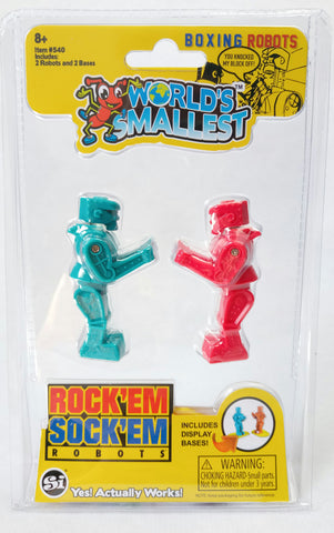 World's Smallest - Rock'Em Sock'Em Robots