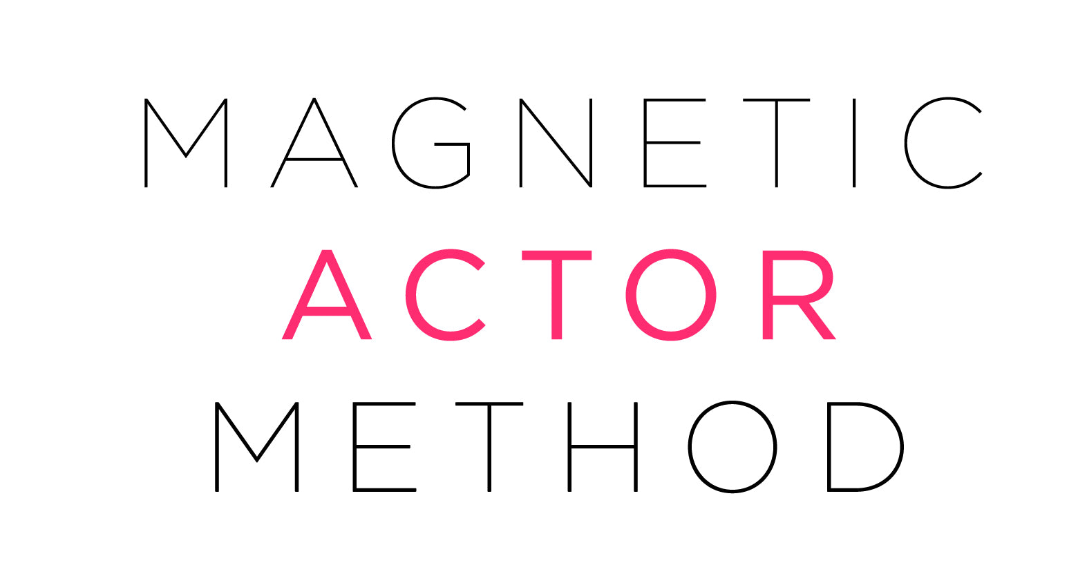 Magnetic Actor Method