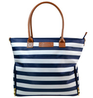 Sarah Wells Breast Pump Bag (Abby-Navy Stripe)