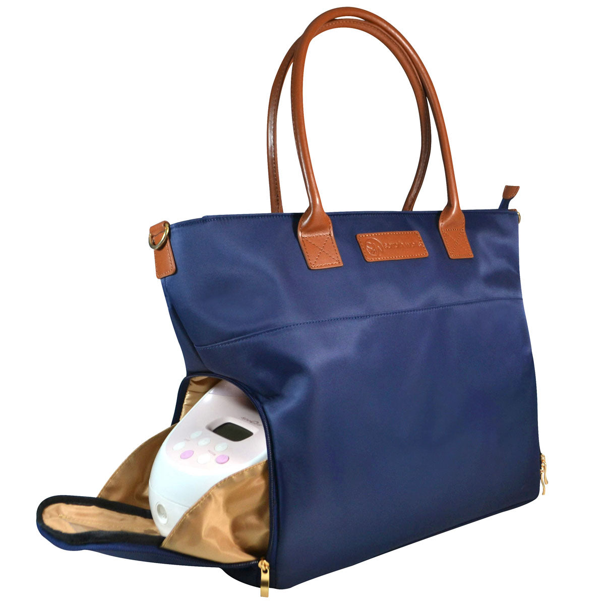 Sarah Wells Breast Pump Bag (Abby-Navy)