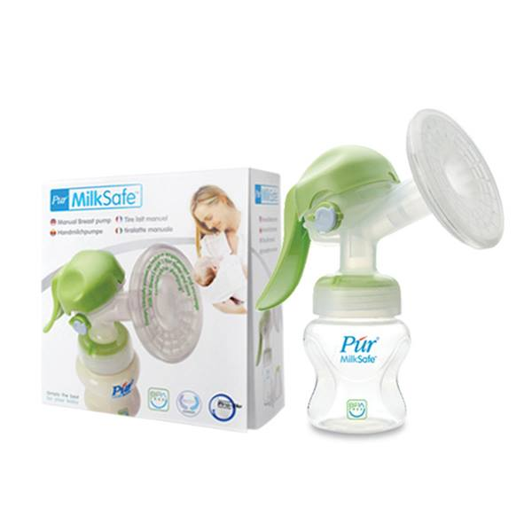 Púr MilkSafe Manual Breast Pump