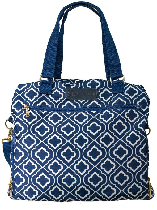 Sarah Wells Breast Pump Bag (Lizzy-Navy)