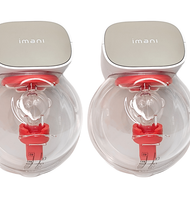 (*NEW*) imani i2 Electrical Breast Pump (Clear Cup) - One pair (FREE Gift)