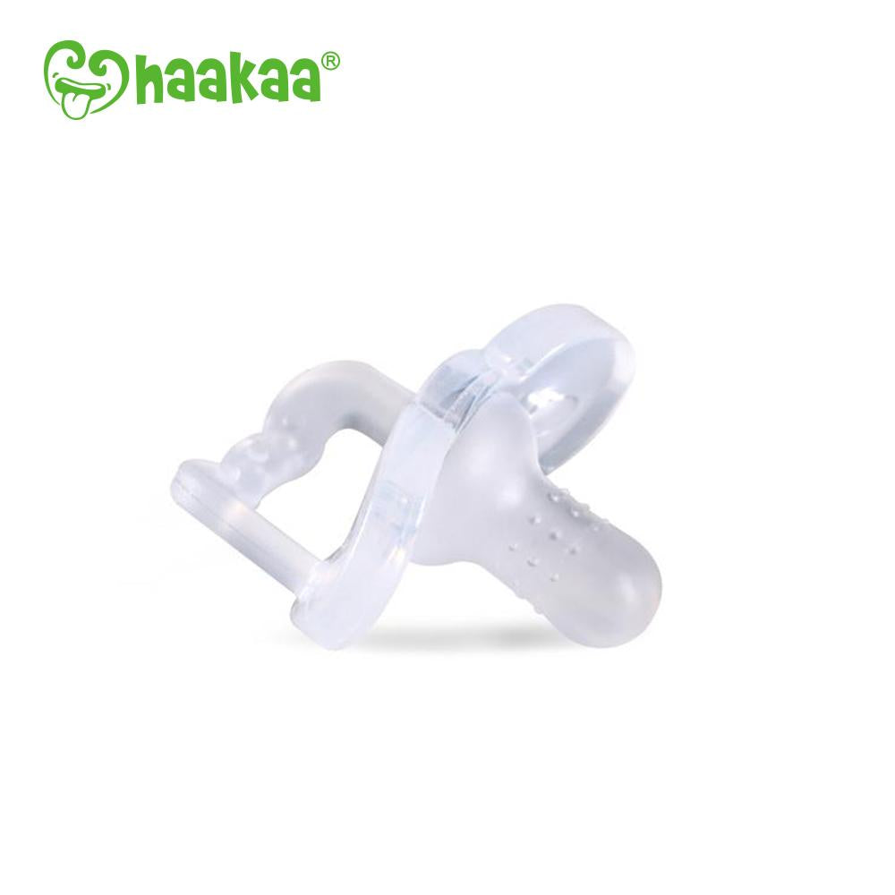 Haakaa Newborn Silicone Dummy (Pacifier) - Clear