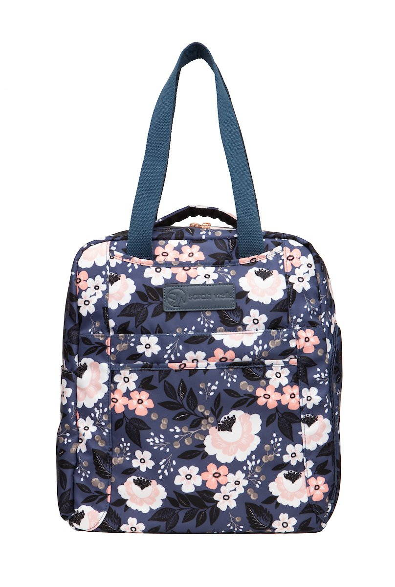 Sarah Wells Breast Pump Bag (Kelly-Le Floral)