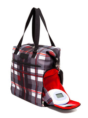 Sarah Wells Breast Pump Bag (Lizzy-Tartan)