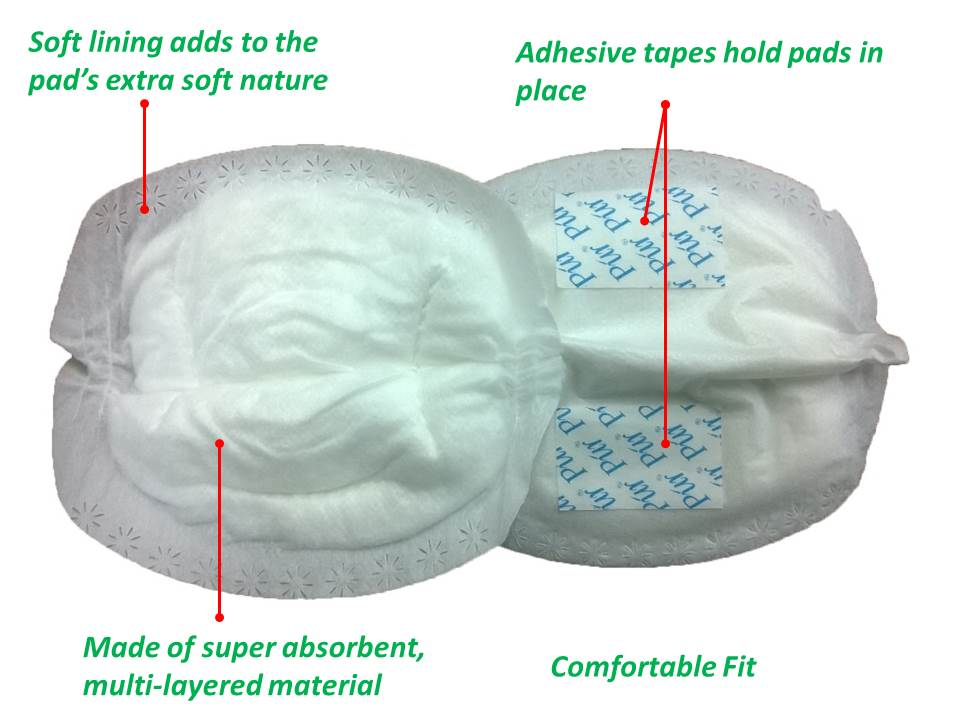 Púr MilkSafe Disposable Breastpad/Nursing Pad