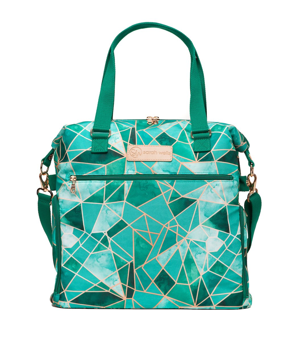 Sarah Wells Breast Pump Bag (Lizzy-Mosaic) - Limited Edition
