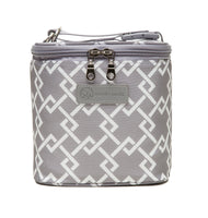 Sarah Wells Cold Gold Cooler Bag + Ice Pack (Gray)