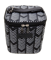 Sarah Wells Cold Gold Cooler Bag + Ice Pack (Black & White)