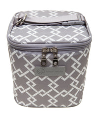 Sarah Wells Cold Gold Cooler Bag + Ice Pack (Grey)