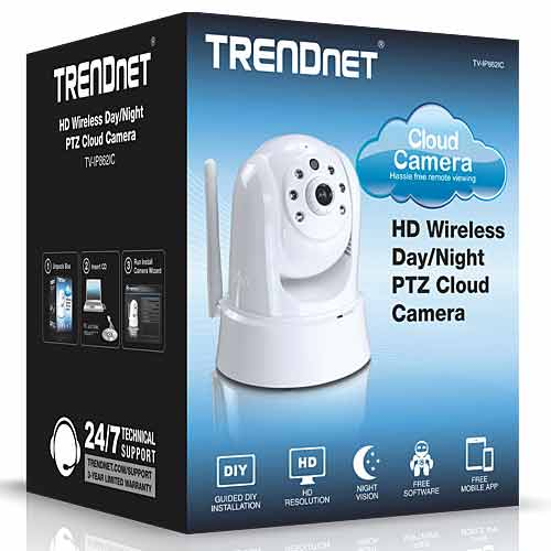 [BUNDLE DEAL] TRENDNET HD IP Wireless Cloud Camera with Mirco SD Card