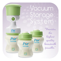 Púr Milksafe Breastmilk Vacuum Storage Bottles