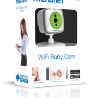 TRENDNET (US) Wireless Day/Night Baby Cloud Camera with Soothing Lullaby and Speaker (TV-IP743SIC)