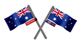 Australia Day Flags