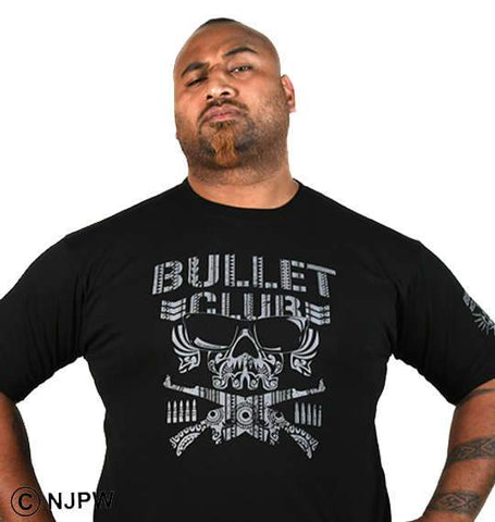 Bad Luck Fale in BULLET CLUB T-Shirt - BIG TALL JAPAN