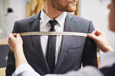 Measuring big & tall men's clothing