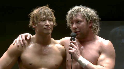 Kenny Omega and Kota Ibushi (The Golden Lovers) - BIG TALL JAPAN