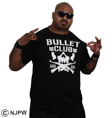 NJPW - Bad Luck Fale Bullet Club T-Shirt (BIG TALL JAPAN)