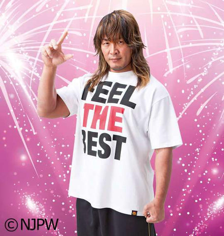 NJPW Tanahashi Feel the Best T-Shirt - BIG TALL JAPAN