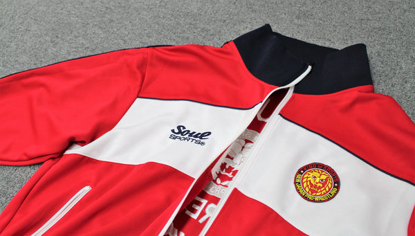 NJPW Tracksuit Jacket - BIG TALL JAPAN
