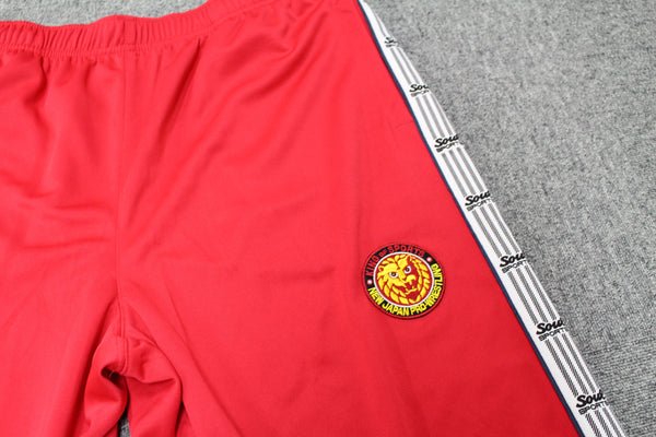 NJPW Tracksuit Pants Top - BIG TALL JAPAN