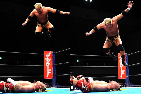 NJPW's Togi Makabe in the Ring - BIG TALL JAPAN