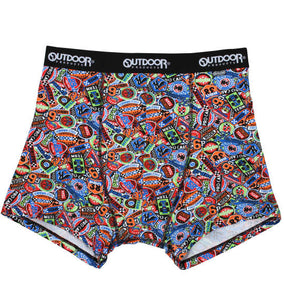 OUTDOOR PRODUCTS Racing Sticker Print Underwear - big tall-jp.com