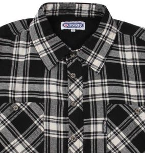 OUTDOOR PRODUCTS Checked Fleece Shirt - big tall-jp.com