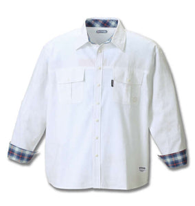 OUTDOOR PRODUCTS Roll-up Work Shirt (Shirts) - OUTDOOR PRODUCTS | BIG TALL JAPAN