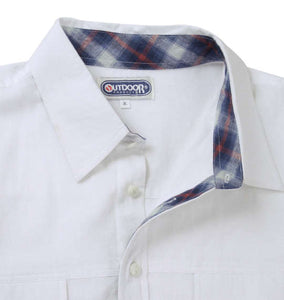 OUTDOOR PRODUCTS Roll-up Work Shirt - big tall-jp.com