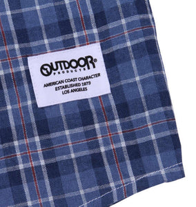 OUTDOOR PRODUCTS Roll-up Checked Shirt - big tall-jp.com