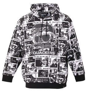Duck Dude Fully Patterned Hoodie Image 1