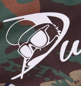 Duck Dude Camo-Pattern T-shirt - big tall-jp.com