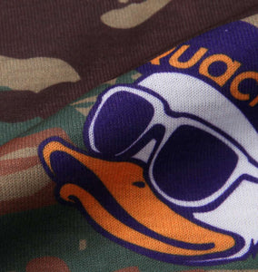 Duck Dude Camo-Pattern T-shirt Image 6