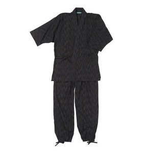 Mc.S.P Japanese Samue (Black) - big tall-jp.com