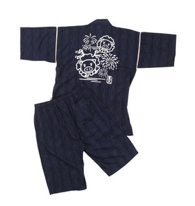 BUDEN SHOUTEN Japanese Jinbei (Navy) - big tall-jp.com