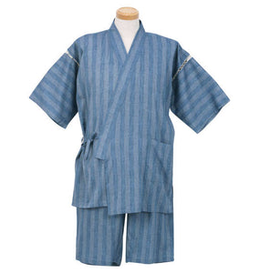 Mc.S.P Japanese Jinbei (Saxe Blue) - big tall-jp.com