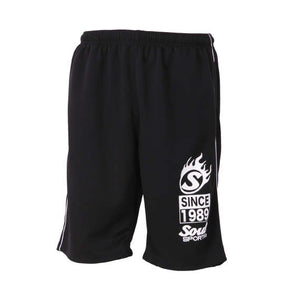 Soul Sports Half-Sleeve Zip-up T-Shirt & Shorts Set - big tall-jp.com