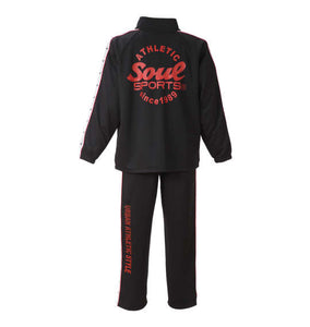 SOUL SPORTS Long Sleeve Tracksuit Set - big tall-jp.com