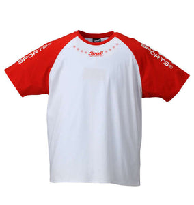 Soul Sports Crewneck Raglan T-Shirt (T-Shirts) - Soul Sports | BIG TALL JAPAN