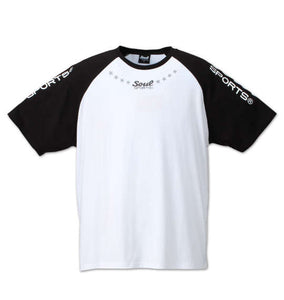 Soul Sports Crewneck Raglan T-Shirt - big tall-jp.com