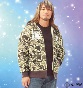 NJPW Hiroshi Tanahashi Ace Of Hoodie (Hoodies & Jackets) - NJPW | BIG TALL JAPAN