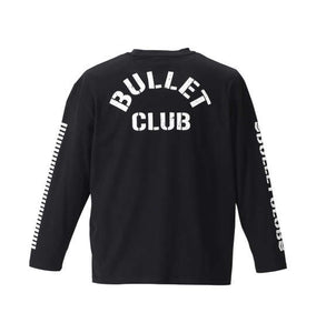 NJPW Bullet Club Long Sleeve T-Shirt - big tall-jp.com